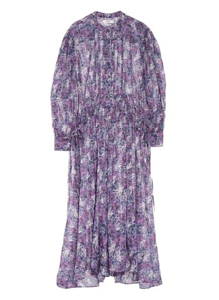 ISABEL MARANT ÉTOILE Kleid ARIANA, Farbe: DUNKELLILA/ NEONLILA/ HELLLILA (Bild 1)