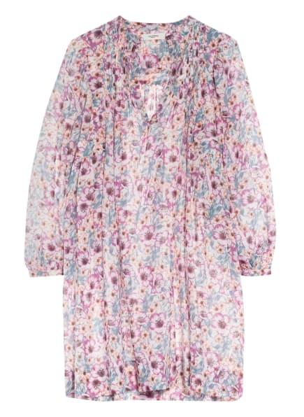 ISABEL MARANT ÉTOILE Kleid VIRGINIE, Farbe: WEISS/ FUCHSIA/ BLAUGRAU (Bild 1)