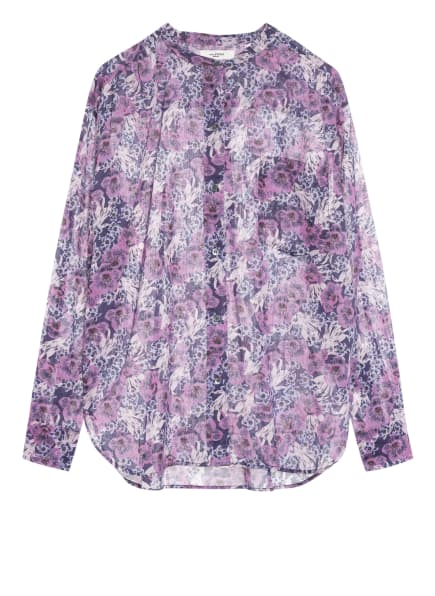 ISABEL MARANT ÉTOILE Bluse MEXIKA, Farbe: DUNKELLILA/ FUCHSIA/ HELLLILA (Bild 1)