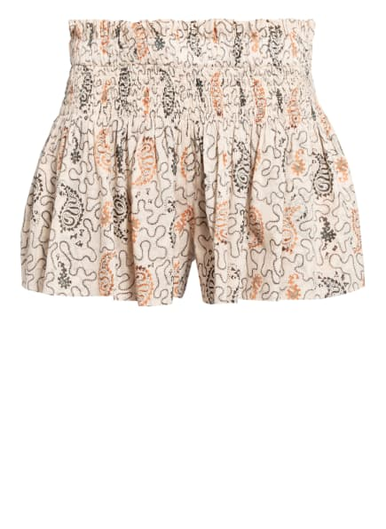 ISABEL MARANT ÉTOILE Shorts AYOWEL, Farbe: ECRU/ DUNKELGRAU/ HELLBRAUN (Bild 1)