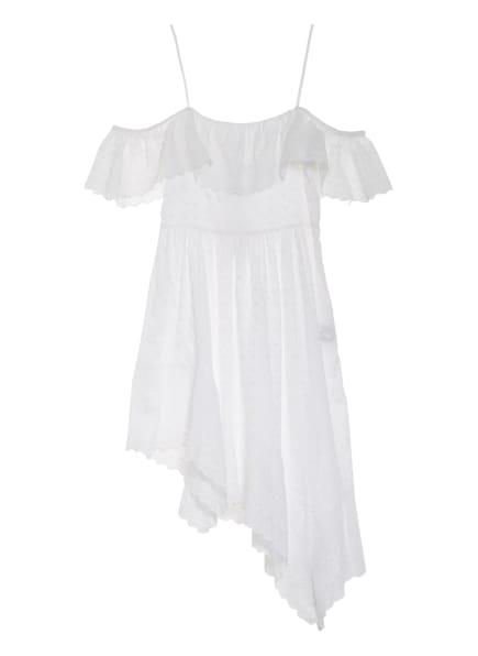 ISABEL MARANT ÉTOILE Off-Shoulder-Kleid TIMORIA mit Lochspitze, Farbe: CREME/ WEISS (Bild 1)