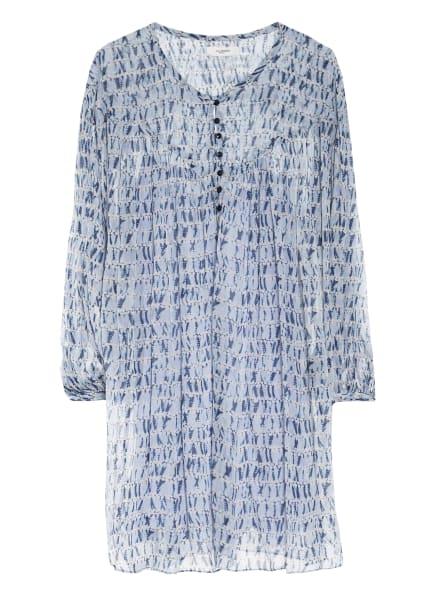 ISABEL MARANT ÉTOILE Kleid SILORION, Farbe: HELLBLAU/ CREME/ DUNKELBLAU (Bild 1)