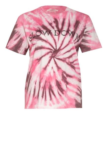 ISABEL MARANT ÉTOILE T-Shirt ZEWEL, Farbe: ALTROSA/ ROSA/ WEISS (Bild 1)