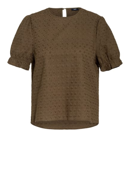 JOOP! Blusenshirt BETSIE aus Lochspitze, Farbe: OLIV (Bild 1)