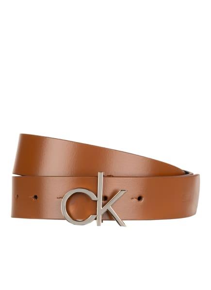 Calvin Klein Ledergürtel, Farbe: GAC Cognac (Bild 1)