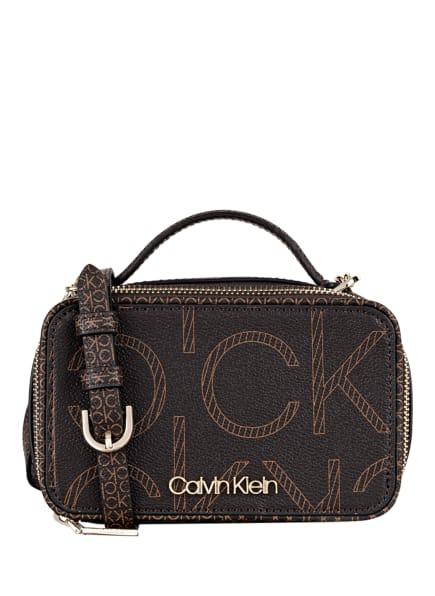 Calvin Klein Umhängetasche, Farbe: DUNKELBRAUN (Bild 1)