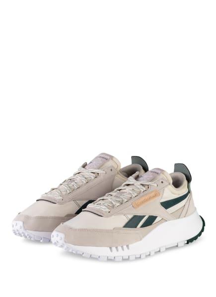 Reebok CLASSIC Sneaker CL LEGACY, Farbe: CREME/ DUNKELGRÜN (Bild 1)