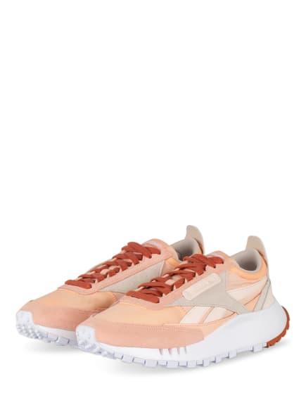 Reebok CLASSIC Plateau-Sneaker CLASSIC LEATHER LEGACY, Farbe: HELLORANGE (Bild 1)
