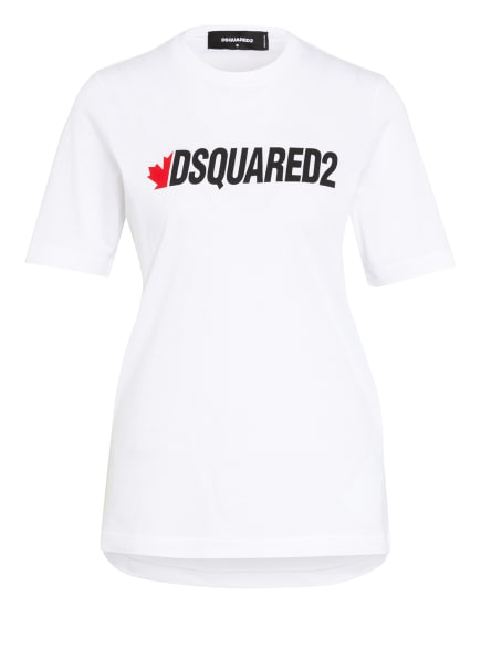 DSQUARED2 T-Shirt RENNY, Farbe: WEISS/ SCHWARZ (Bild 1)
