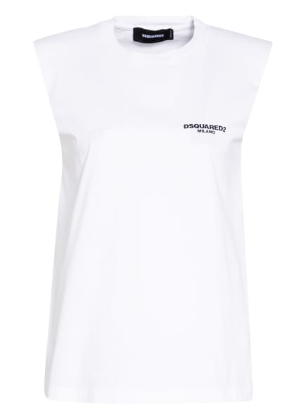 DSQUARED2 Top, Farbe: WEISS (Bild 1)