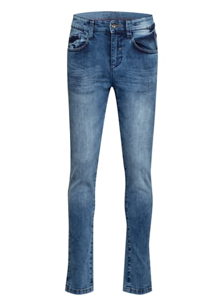 s.Oliver RED Skinny Jeans Slim Fit, Farbe: BLAU (Bild 1)