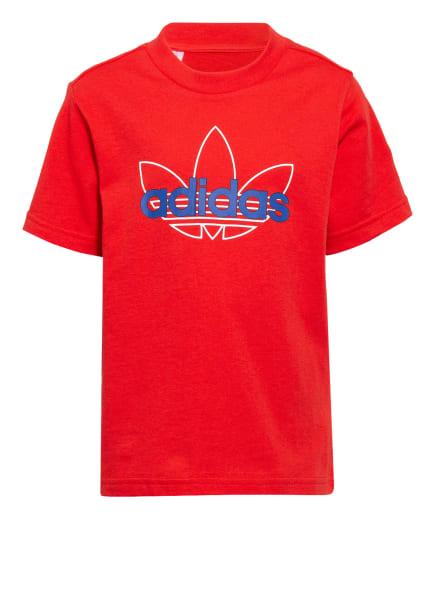 adidas Originals T-Shirt, Farbe: ROT (Bild 1)