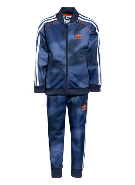 adidas Originals Trainingsanzug, Farbe: DUNKELBLAU (Bild 1)