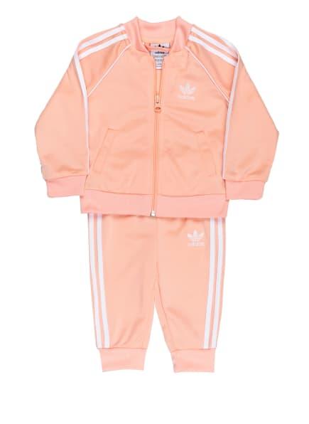 adidas Originals Trainingsanzug, Farbe: NUDE/ WEISS (Bild 1)