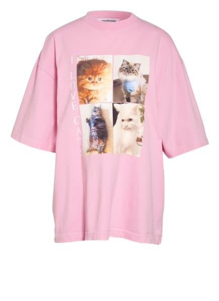 BALENCIAGA Oversized-Shirt, Farbe: ROSA (Bild 1)