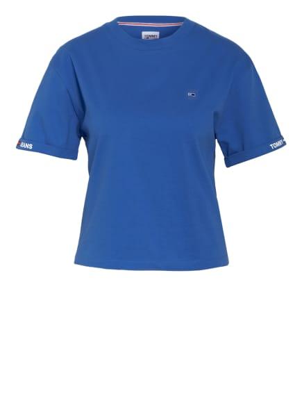 TOMMY JEANS Cropped-Shirt, Farbe: BLAU (Bild 1)