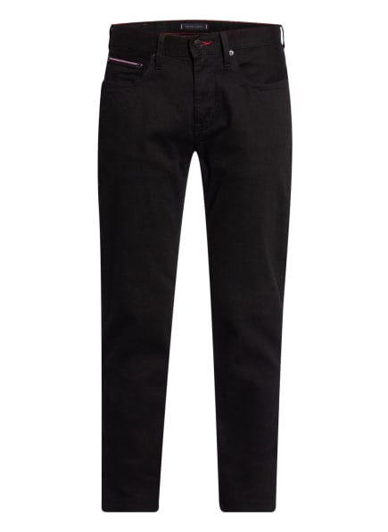 TOMMY HILFIGER Jeans Straight Fit, Farbe: 1B8 Detroit Black (Bild 1)