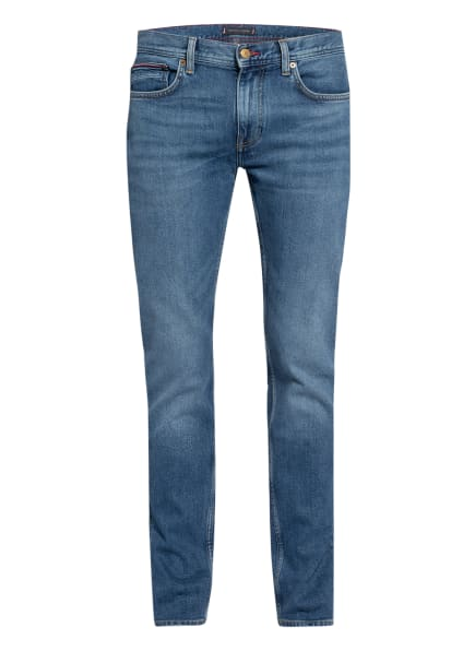 TOMMY HILFIGER Jeans CORE DENTON Straight Fit, Farbe: 1BB Boston Indigo (Bild 1)