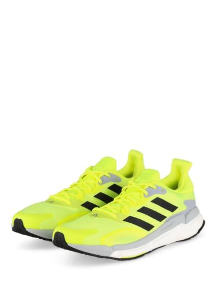 adidas Laufschuhe SOLARBOOST 3, Farbe: NEONGELB (Bild 1)