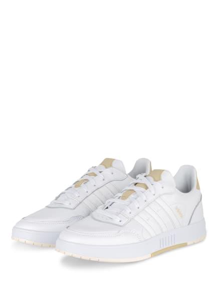 adidas Sneaker COURTMASTER, Farbe: WEISS/ BEIGE (Bild 1)