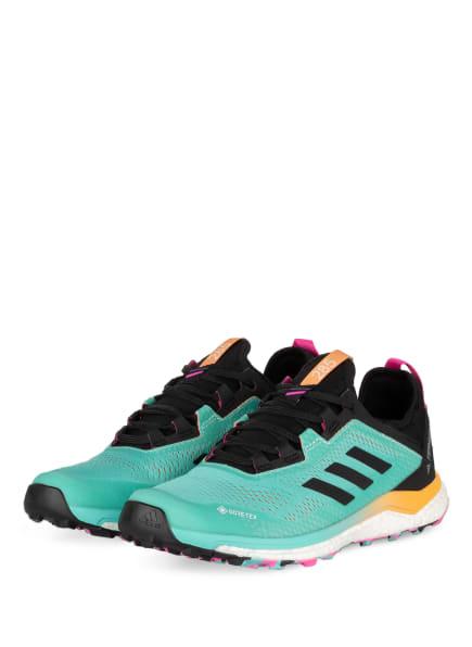 adidas Trailrunning-Schuhe TERREX AGRAVIC FLOW GTX, Farbe: MINT/ SCHWARZ (Bild 1)