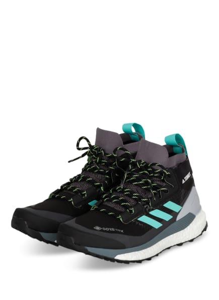 adidas Outdoor-Schuhe TERREX FREE HIKER GTX, Farbe: SCHWARZ/ GRAU (Bild 1)