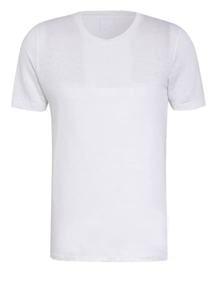 120%lino T-Shirt aus Leinen, Farbe: TS50R white (Bild 1)