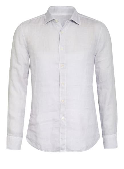 120%lino Leinenhemd Slim Fit, Farbe: TS60 silver (Bild 1)