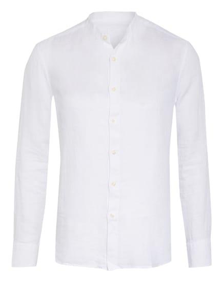 120%lino Leinenhemd Slim Fit, Farbe: WEISS (Bild 1)