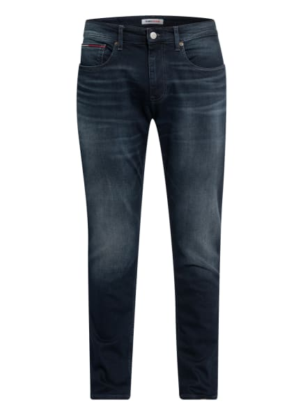 TOMMY JEANS Jeans AUSTIN Slim Fit, Farbe: 1BZ Cornell Bl Bk Str (Bild 1)