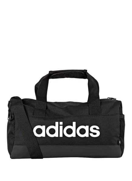 adidas Sporttasche LINEAR DUFFEL XS, Farbe: SCHWARZ/ WEISS (Bild 1)