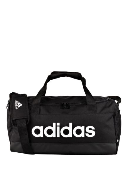 adidas Sporttasche LINEAR DUFFLE S, Farbe: SCHWARZ/ WEISS (Bild 1)