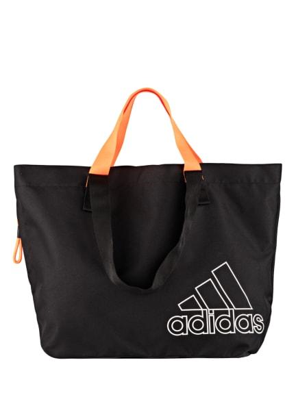 adidas Sporttasche , Farbe: SCHWARZ/ NEONORANGE (Bild 1)