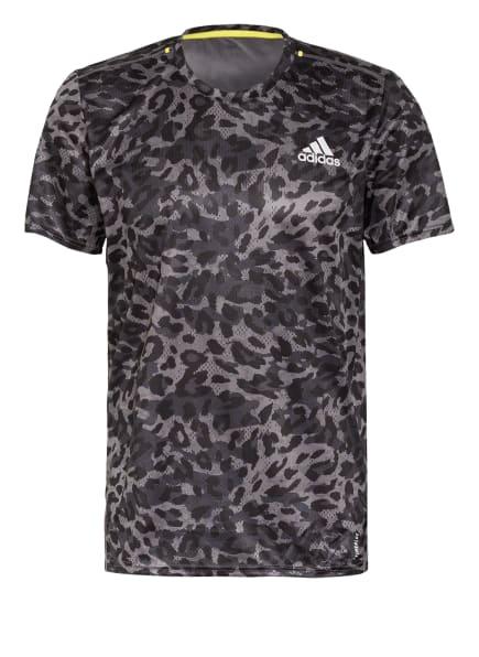 adidas T-Shirt, Farbe: GRAU/ SCHWARZ (Bild 1)