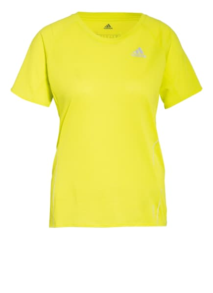 adidas Laufshirt RUNNER, Farbe: NEONGELB (Bild 1)