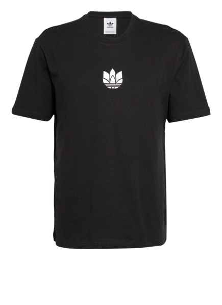 adidas Originals T-Shirt 3D TREFOIL, Farbe: SCHWARZ/ WEISS (Bild 1)