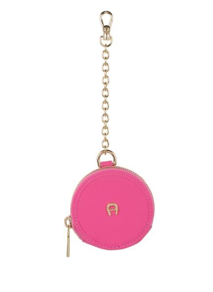 AIGNER Schlüsselanhänger mit Münzetui, Farbe: PINK (Bild 1)