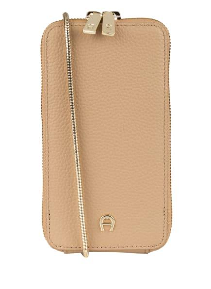 AIGNER Smartphone-Tasche, Farbe: BEIGE (Bild 1)
