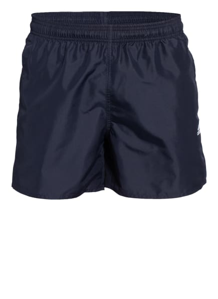 adidas Badeshorts SOLID, Farbe: DUNKELBLAU (Bild 1)