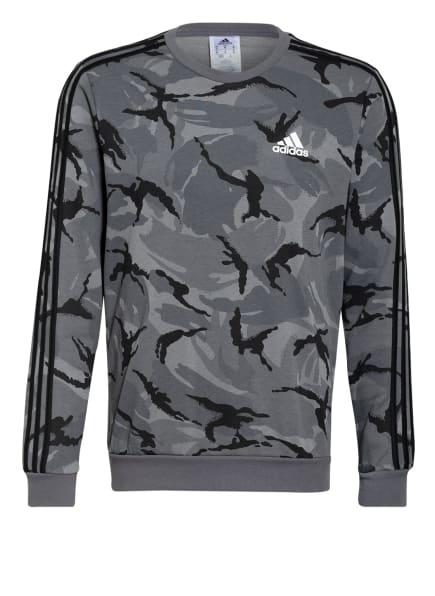 adidas Sweatshirt, Farbe: GRAU/ DUNKELGRAU/ SCHWARZ (Bild 1)