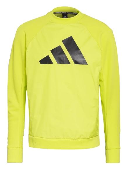 adidas Sweatshirt, Farbe: NEONGRÜN (Bild 1)