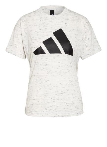 adidas T-Shirt SPORTSWEAR WINNERS 2.0, Farbe: WEISS/ GRAU/ SCHWARZ (Bild 1)