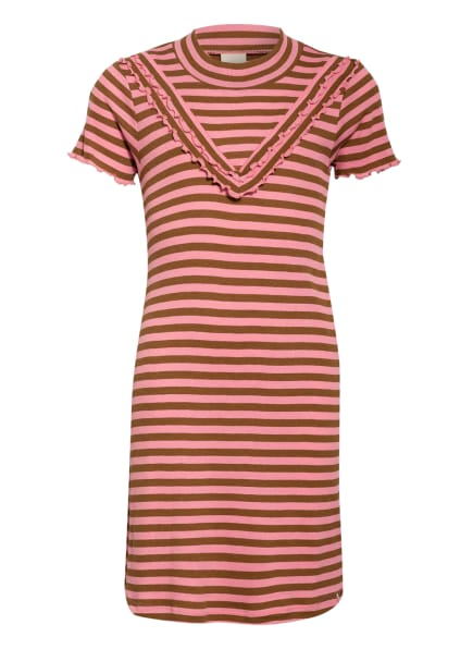 SCOTCH R'BELLE Jerseykleid , Farbe: ROSA/ CAMEL (Bild 1)