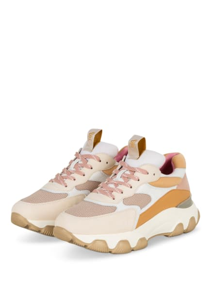 HOGAN Plateau-Sneaker HYPERACTIVE , Farbe: COGNAC/ ROSA/ CREME (Bild 1)
