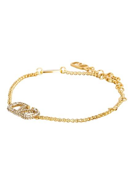 VALENTINO GARAVANI Armband VLOGO mit Swarovski Kristallen, Farbe: GOLD (Bild 1)