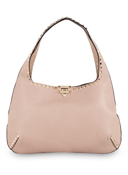 VALENTINO GARAVANI Handtasche ROCKSTUD mit Nietenbesatz, Farbe: TAUPE (Bild 1)