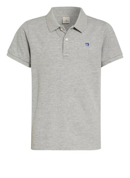 SCOTCH SHRUNK Jersey-Poloshirt, Farbe: HELLGRAU (Bild 1)