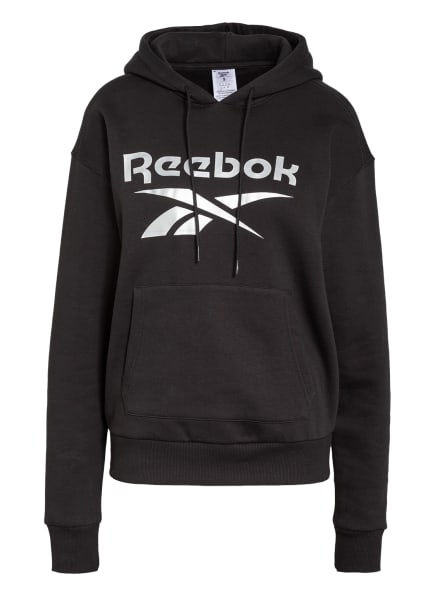 Reebok Hoodie IDENTITY, Farbe: SCHWARZ (Bild 1)