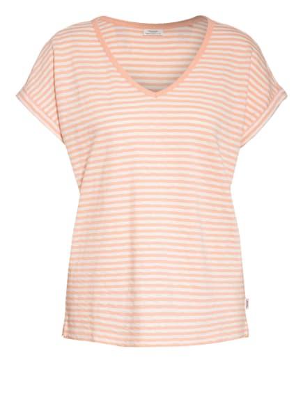 Marc O'Polo DENIM T-Shirt, Farbe: LACHS/ WEISS (Bild 1)