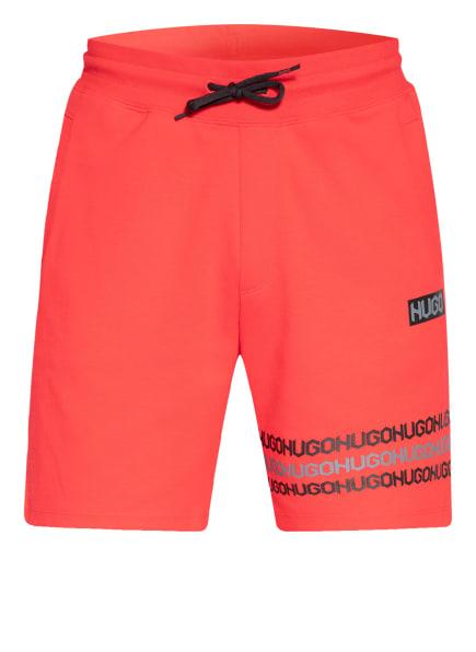 HUGO Sweatshorts DAKUMI , Farbe: ROT (Bild 1)